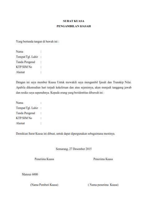 Contoh Surat Resmi Pengambilan Ijazah by Contoh Surat Pernyataan Gaji Contoh 49