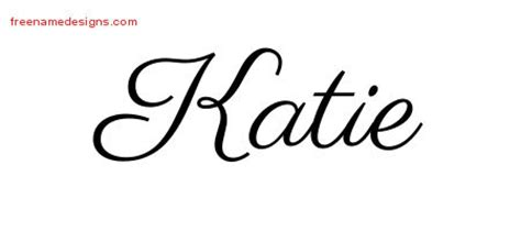 tattoo name katie pin name tattoo classic banner black flaming rose free