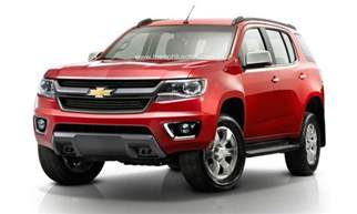 Chevrolet Vehicles 2015 2016 Chevy Trailblazer Release Date Specs Price Review
