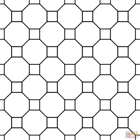 tessellating shapes templates free tessellations coloring pages az coloring pages