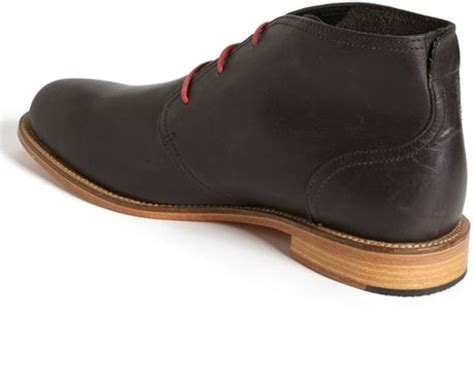j shoes monarch chukka boot in black for lyst