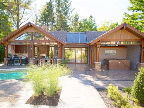 backyard pool houses pool houses have become the second home in your backyard ottawa citizen