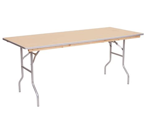 banquet wood folding tables commercial quality
