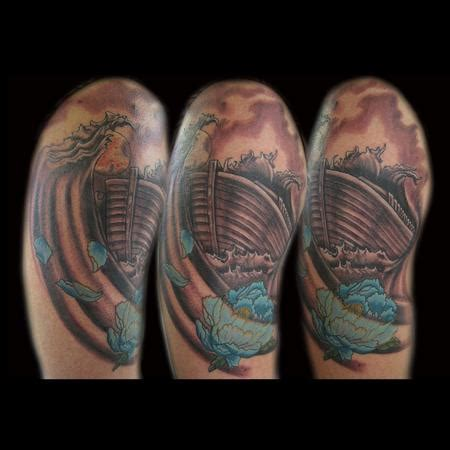 noah tattoo japanese noahs ark by webb tattoonow