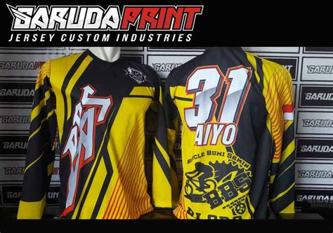 desain jersey sepeda sendiri bikin baju sepeda desain sendiri printing garuda print