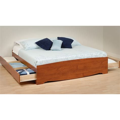 playform bed platform storage bed king sized in beds and headboards