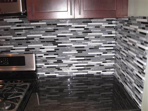installing glass tile backsplash in kitchen lowes glass tile backsplashes for kitchens loversiq