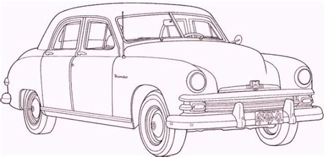 coloring pictures of vintage cars antique car and the unique design coloring pages for boys