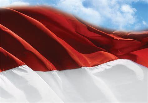 Kartu Pos Bendera Merah Putih bandung java with seorang pimpinan mui haramkan hormat merah putih
