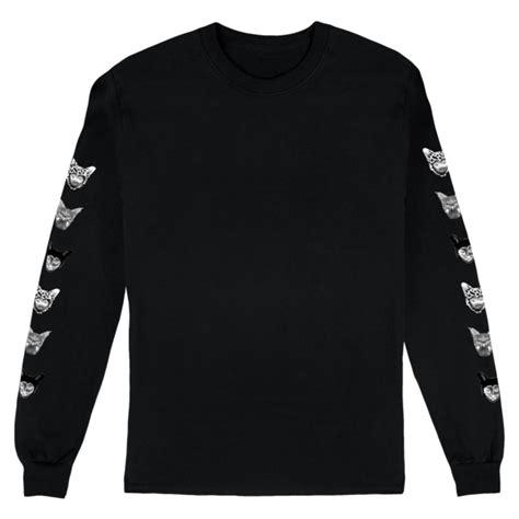 T Shirt Galantis seafox longsleeve black t shirt galantis