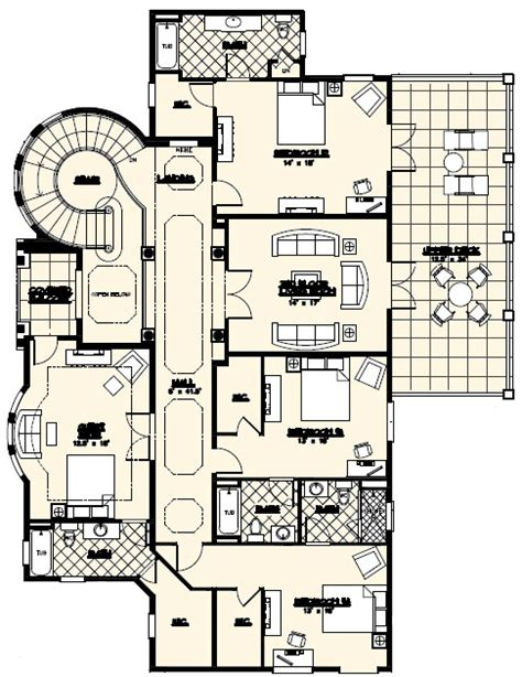luxury custom home floor plans villa marina floor plan alpha builders