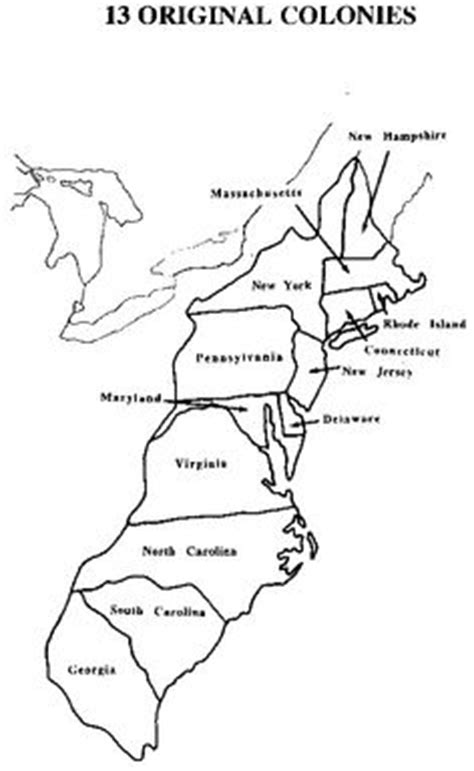 coloring page 13 colonies map 1000 images about social studies on pinterest 13