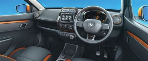 renault climber interior renault kwid climber edition on road price features