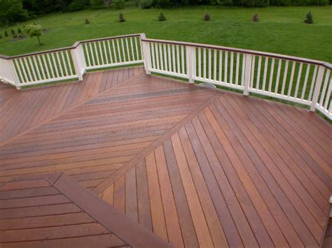 wood pattern deck things you should know before installing ipe wood deck