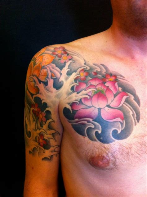 lotus tattoo guy lotus flower tattoos for men ideas and inspiration for
