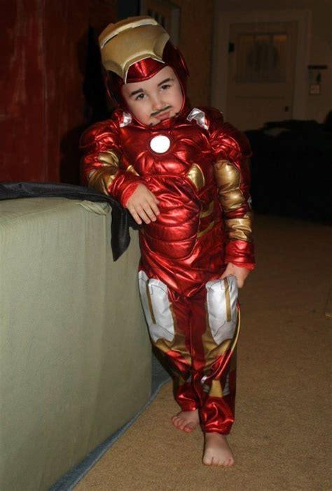 pint sized iron man save halloween neatorama