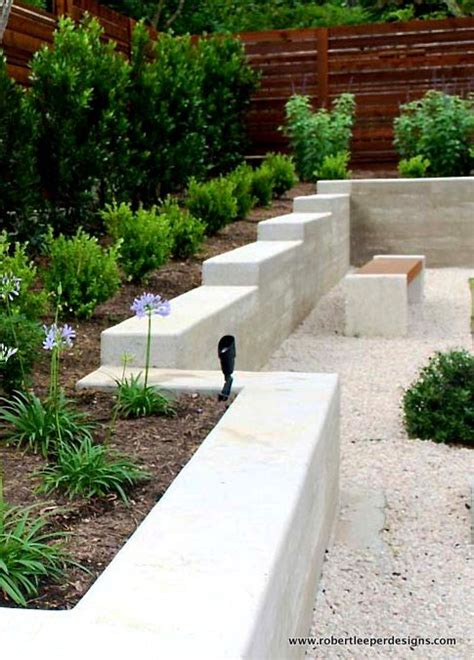modern retaining wall pin by michele lawrence on back yard garden design pinterest