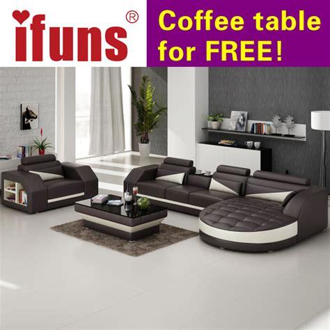 corner lounge with sofa bed and recliner aliexpress com buy ifuns designer corner sofa bed