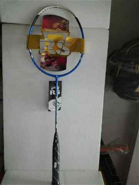 Raket Rs Iso 7270 Tour jual perlengkapan olahraga bulutangkis badminton aksesoris baju celana grip karpet lapangan