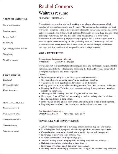 sle resume cocktail waitress duties knowing waitress duties before writing cocktail waitress resume