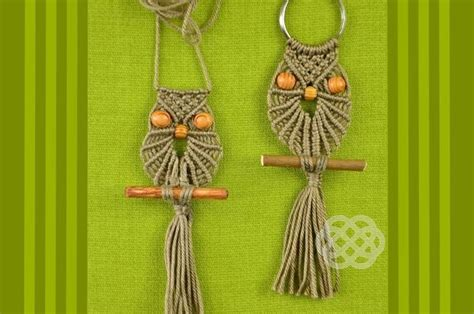 How To Make A Macrame - chouette en macram 233 sakarton
