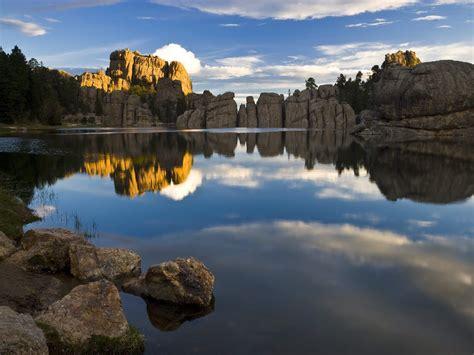 paddle boats rapid city sd nature sylvan lake custer state park south dakota