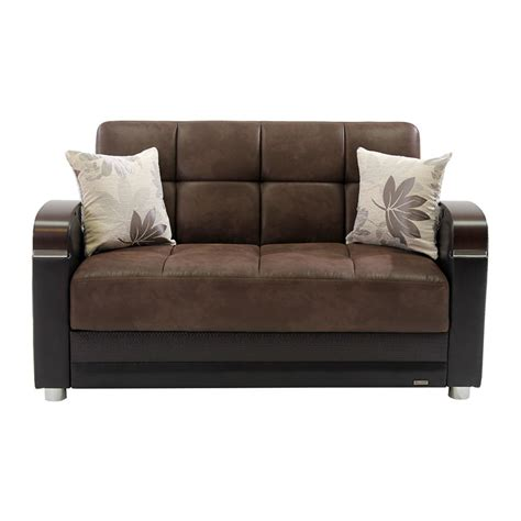 chocolate futon peron chocolate futon loveseat el dorado furniture