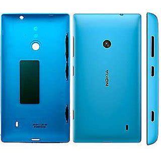 Casing Nokia Lumia 520 Housing Fullset Backcase Back Door Cover back battery door panel replacement nokia lumia 520 housing cover cyan blue available at