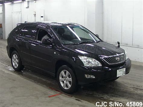 used toyota harrier picture image 2008 toyota harrier black for sale stock no 45809