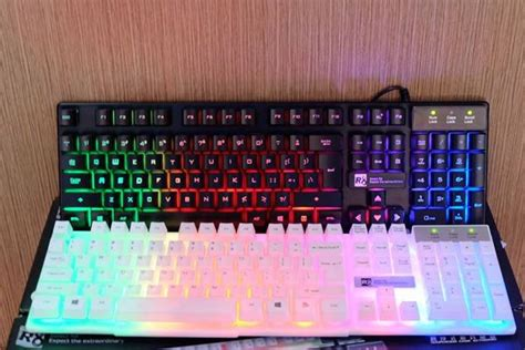 R8 1822 Gaming Keyboard Black 1 10 keyboard gaming murah berkualitas di tahun 2018