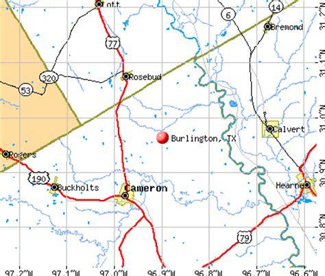 burlington texas map burlington texas tx 76520 profile population maps real estate averages homes statistics