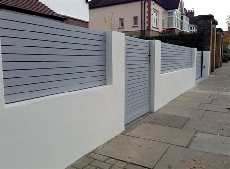 front wall designs for homes front boundary wall screen automated electronic gate