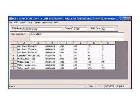 novel format program pdb file format software ranaa