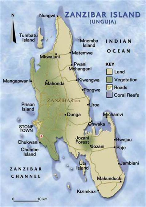 africa map zanzibar quot zanzibar kiwengwa quot by daniela cifarelli redbubble
