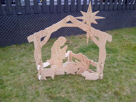 pattern for wood nativity scene nativity scene patterns for plywood myideasbedroom com