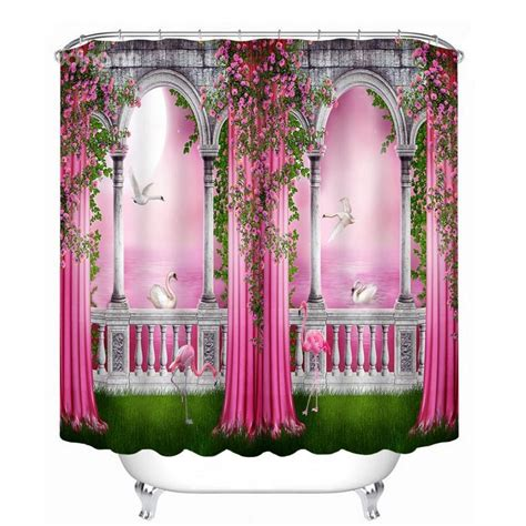 3d Shower Curtains by Magic World Printing Bathroom Decor 3d Shower Curtain