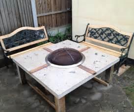Costco Kitchen Furniture polished concrete fire pit table