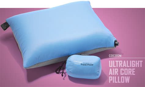 Cocoon Ultralight Air Pillow by The Best Cing Pillows For Cosy Wilderness Sleeps Cool