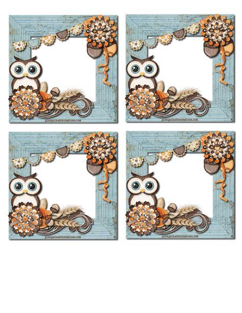 printable owl desk tags cute printable desk calendar july 2015 quotes