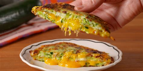 Delish Chicken Recipes by Best Zucchini Grilled Cheese How To Make Zucchini