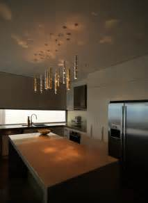 Modern Kitchen Island Lights Rain Light Drops 15 Drops Contemporary Kitchen