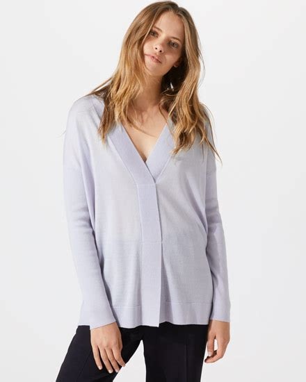 Blouse Wafer knitwear s cardigans ponchos jumpers jigsaw