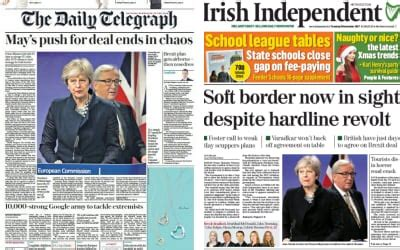 culture telegraph online daily telegraph sunday telegraph the irish gordian knot how the newspapers reacted to