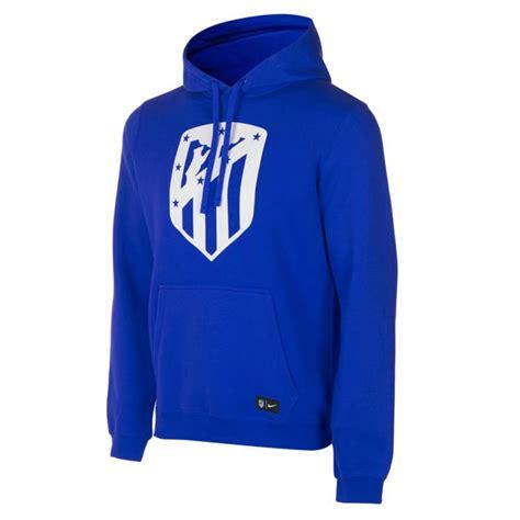 Jaket Hoodie Atletico Madrid Jaket Football Team atletico madrid 17 18 blue hoodie jacket 892889 163 35 99 cheap soccer jerseys