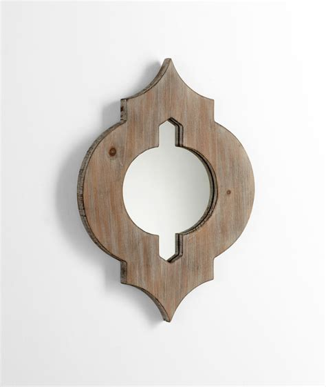 wood wall mirrors decorative decorative wood wall mirror by cyan design