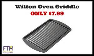 wilton oven griddle only 7 99