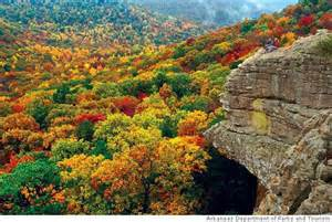 of arkansas colors color of the ozarks sfgate