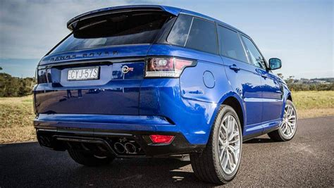 range rover sport svr 2016 review road test carsguide