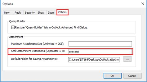 Office 365 Outlook Blocking Attachments Kutools For Outlook 5 00 Release Notes