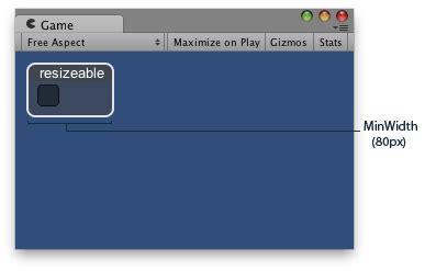 unity layout flexible width unity scripting api guilayout minwidth
